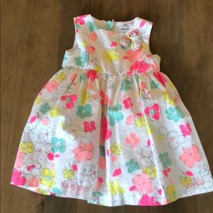 Beautiful Carters Floral Baby Girls Dress